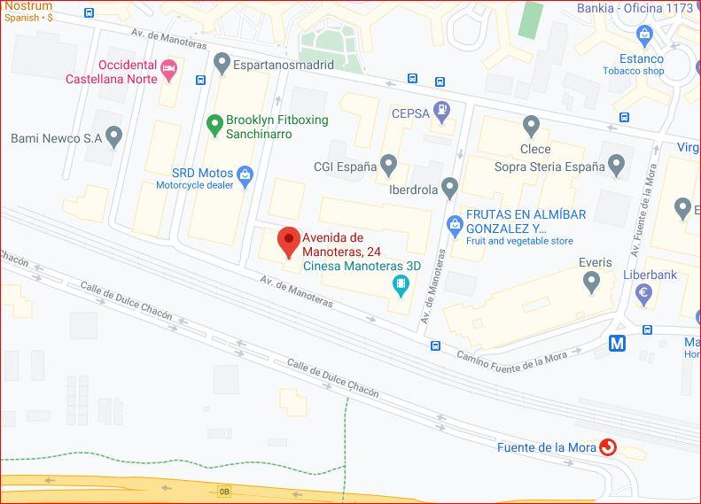 Avenida de Manotareas 24, Madrid 28050