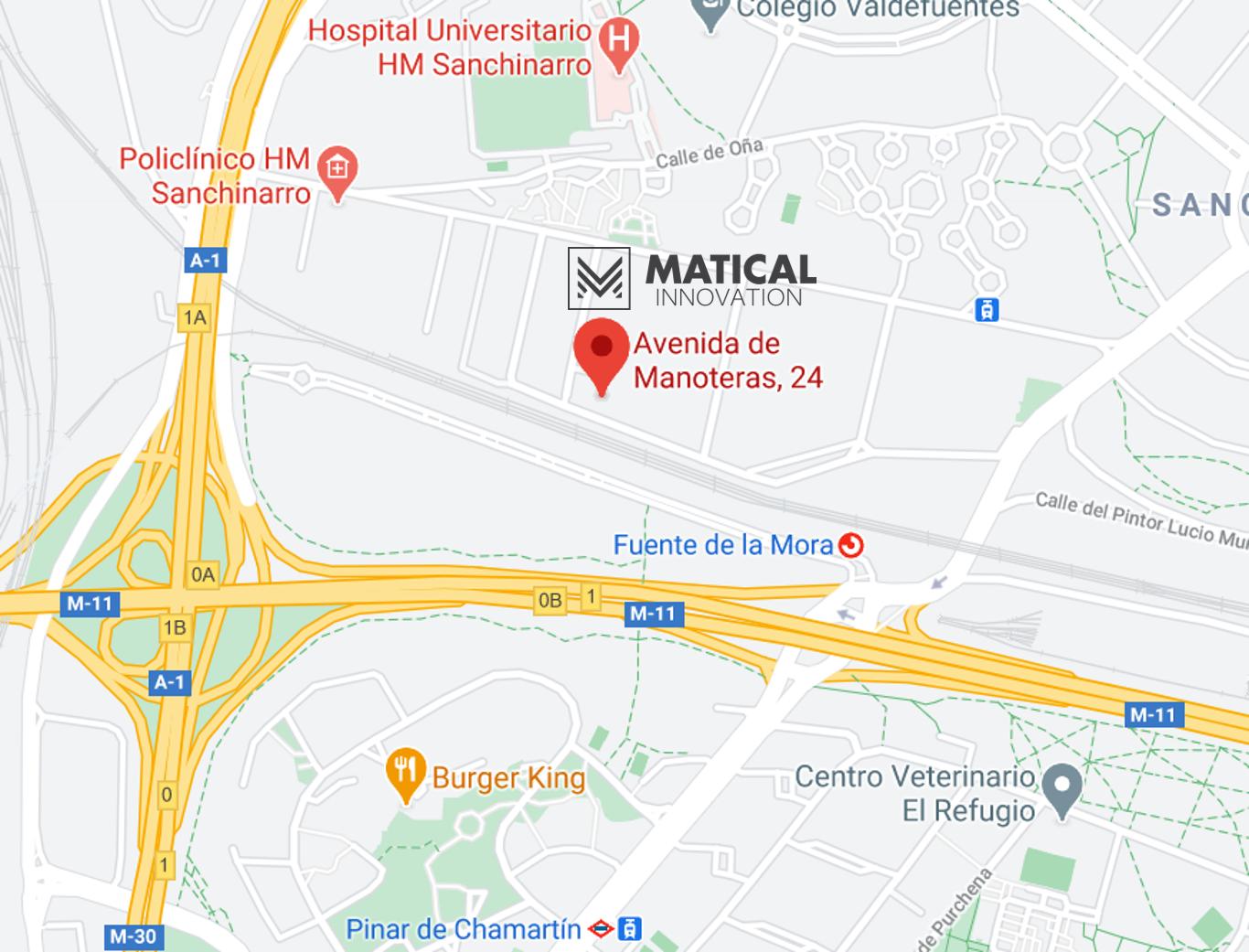 Map MATICAL ESP